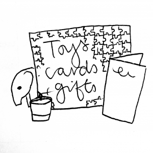 Cards, Presents, Toys etc.